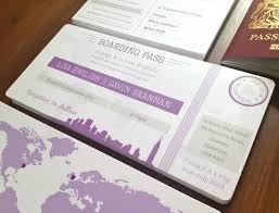 wedding invitations new york new york boarding pass wedding invitation bundle by rodo creative