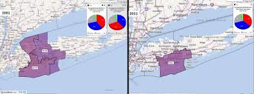 New York Map Districts by Congressional Districts In New York After The 2010 Census