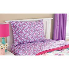 twin bedding girl bedroom kids duvet and pillow set bright kids bedding girl