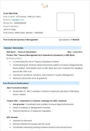 finance manager resume format best sample templates examples u2013 inssite
