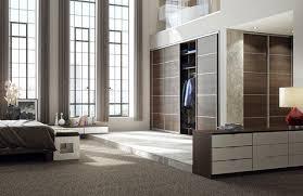 Pole In Bedroom Tobacco Aida Walnut Sliding Doors With Decor Bars Contemporary