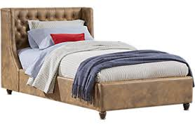 dark wood twin beds cherry espresso mahogany brown etc