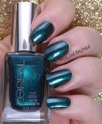 l u0027oreal nail polish the muse u0027s attitude the mystic u0027s fortune