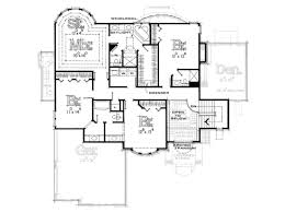 dimensioned floor plan traditional style house plan 4 beds 3 50 baths 3283 sq ft plan