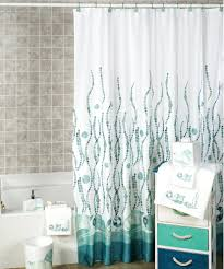 Designer Shower Curtain by Tie Back Shower Curtains Home Design Ideas And Pictures