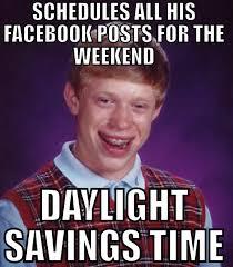 Social Media Meme - bad luck brian social media manager problems social media memes