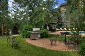 Backyard Grill Area by Expedition Station 8628 Vacation Rental In Keystone Co Summit