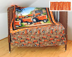 Tractor Crib Bedding Decoration Tractor Nursery Bedding Crib Toddler Bed Set For