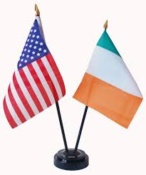 usa ireland friendship table flags