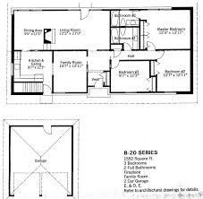 baby nursery split level floor plans 1960s mid century modern