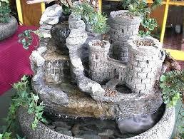 a tabletop water garden or a terrarium tabletop water garden
