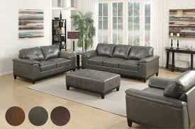 Genuine Leather Living Room Sets Chair Leather Living Room Furniture Decorating Leather Living