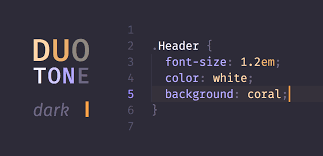 Two Dark Ui - duotone themes syntax themes for atom