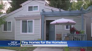 tiny cottages tiny homes could be future for sacramento u0027s homeless cbs13 cbs