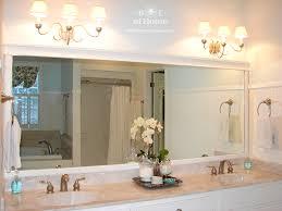 Chandelier Bathroom Lighting Beauteous 70 Bathroom Lighting Over Large Mirror Inspiration Of