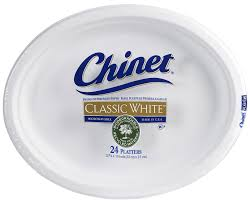 chinet plates 35 chinet oval paper plates plate chinet duet oval tefaco