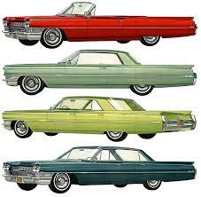 1964 cadillac paint charts and color codes