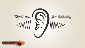 thank you for listening thanksimages