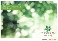 design guidelines the gables downloads celestino