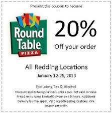 round table pizza coupons 25 off round table clubhouse mt shasta mall visitredding com