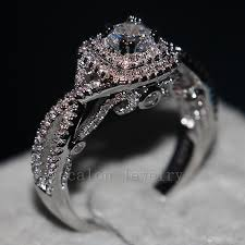 vintage design rings images 2018 ecalon vintage design women jewelry ring simulated diamond cz jpg