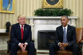 Trump In The Oval Office Obama To Trump In White House U0027if You Succeed The Country