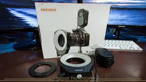 neewer macro ring led light neewer ring 48 macro led light product review