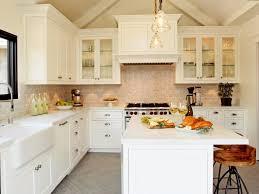 farmhouse kitchen stools white spray paint melamine island brown