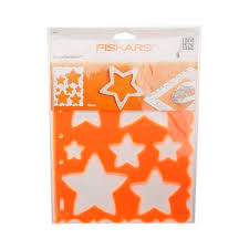 fiskars star shape template