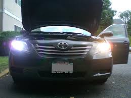 2007 toyota camry kits installed apexcone 6000k hid kit on 2007 camry le photos and