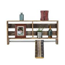 Wood Shelf Gallery Rail by Bathroom Wall Shelves You U0027ll Love Wayfair