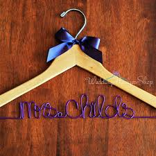 personalized wedding hangers custom bridal hanger wedding hanger