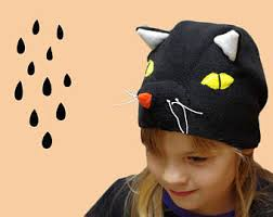Kids Cat Halloween Costume Black Cat Costume Etsy