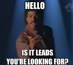 Lionel Richie Meme - why marketing and sales don t get along a marketer s perspective