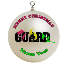 color guard ornament decore