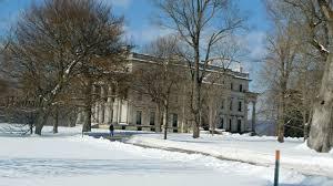 winter views vanderbilt mansion hyde park ny