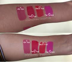 Lipstik Pixy Warna Merah review pixy lip all shade chic classic