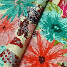 Microfiber Fabric Upholstery Sofa Fabric Upholstery Fabric Curtain Fabric Manufacturer Flowers