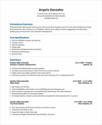 Jewelry Sales Resume Examples by Get The Call Of Interview With These Sales Associate Resume Tips