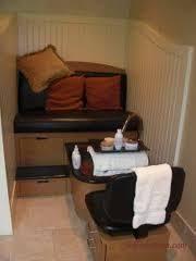 pedicure station i love the comfy feel spa pinterest
