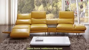 canape jaune cuir faire le relais canapé jaune moutarde cuir artsvette