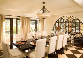 Decorating Ideas Large Dining Room Wall Modern And Unique - Large dining rooms