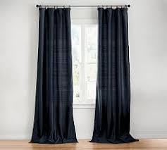 drapery panels silk drapes u0026 silk curtains pottery barn