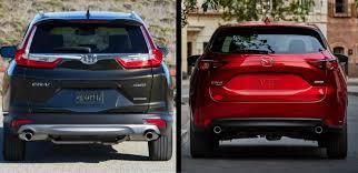 Honda Crv Interior Dimensions Head To Head 2017 Honda Cr V Vs 2017 Mazda Cx 5 Autonation