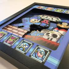 3 D Video Video Game 3d Shadow Boxes The Awesomer
