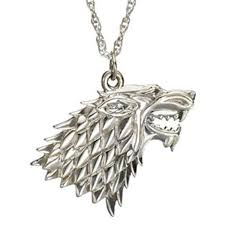 wolf necklace pendant images Charm buddy game of thrones got stark direwolf dire wolf pendant jpg
