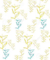seamless pattern organic ornament repeating texture floral