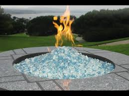 Firepit Rocks Pit Glass