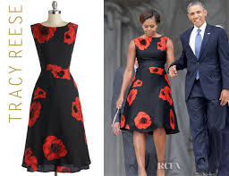 obama dresses obama s tracy reese sophisticated ambiance floral dress
