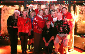 Crazy Christmas Party Ideas Upscale Festive Hairstyles In Uglysweater Parties Too Ugly Sweater